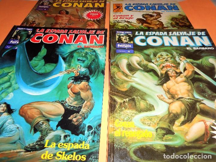 Cómics: SUPER CONAN .16 VOLUMENES TAPA DURA. BUEN ESTADO. LAS MEJORES HISTORIAS DE CONAN. - Foto 4 - 101432603
