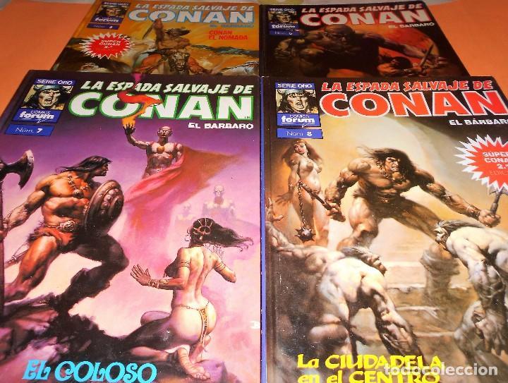 Cómics: SUPER CONAN .16 VOLUMENES TAPA DURA. BUEN ESTADO. LAS MEJORES HISTORIAS DE CONAN. - Foto 5 - 101432603