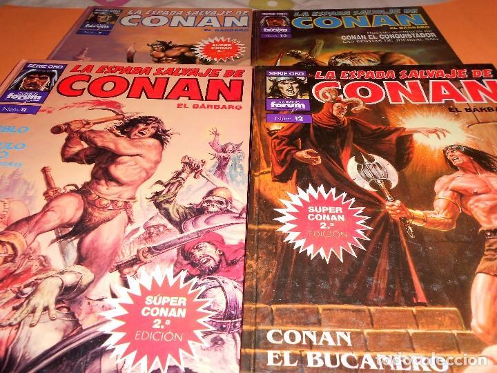 Cómics: SUPER CONAN .16 VOLUMENES TAPA DURA. BUEN ESTADO. LAS MEJORES HISTORIAS DE CONAN. - Foto 6 - 101432603