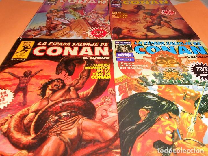 Cómics: SUPER CONAN .16 VOLUMENES TAPA DURA. BUEN ESTADO. LAS MEJORES HISTORIAS DE CONAN. - Foto 7 - 101432603