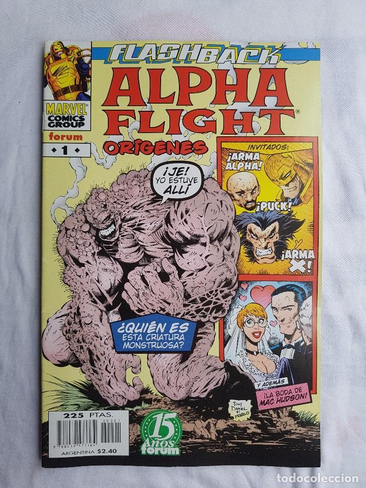 ESPECIAL - ALPHA FLIGHT Nº 1 - ORIGENES - Nº UNICO (Tebeos y Comics - Forum - Alpha Flight)