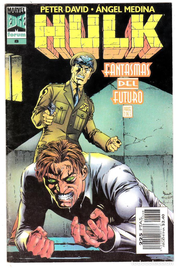 HULK. Nº 8. FORUM FANTASMAS DEL FUTURO (Tebeos y Comics - Forum - Hulk)