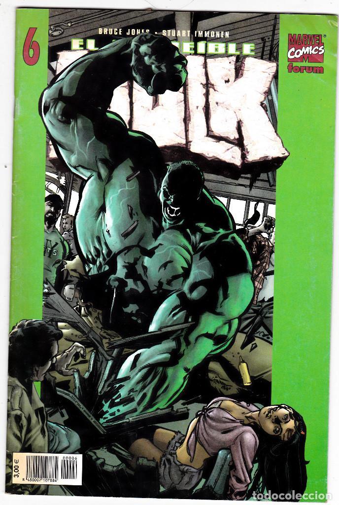 EL INCREIBLE HULK Nº 6 / VOL 2 / FORUM (BRUCE JONES - JOHN ROMITA JR.) (Tebeos y Comics - Forum - Hulk)