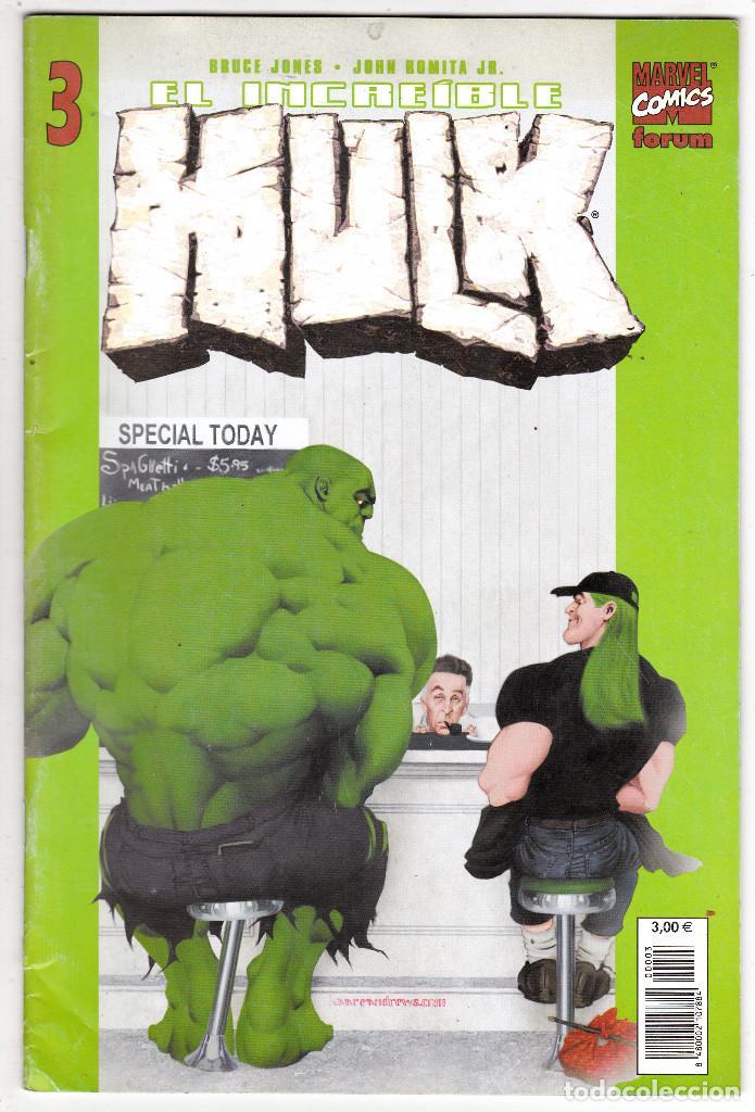 EL INCREIBLE HULK Nº 3 / VOL 2 / FORUM (BRUCE JONES - JOHN ROMITA JR.) (Tebeos y Comics - Forum - Hulk)