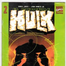 Cómics: EL INCREIBLE HULK Nº 2 / VOL 2 / FORUM (BRUCE JONES - JOHN ROMITA JR.). Lote 101588331