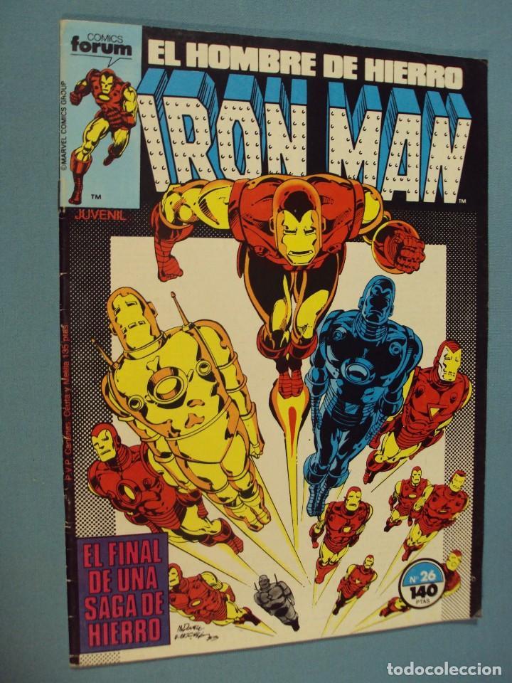 EL HOMBRE DE HIERRO, Nº. 26, 1987, 72 PAG. MUY NUEVO (Tebeos y Comics - Forum - Iron Man)