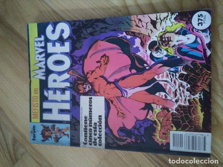 COMIC RETAPADO MARVEL HEROES FORUM PLANETA NUMEROS 26 AL 30 (Tebeos y Comics - Forum - Retapados)