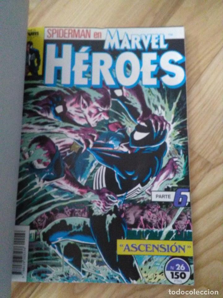 Cómics: comic Retapado Marvel heroes forum planeta numeros 26 al 30 - Foto 3 - 101692015