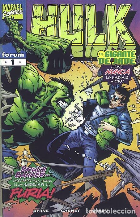 HULK VOL. IV COMICS FORUM Nº 1 AL 12 SERIE COMPLETA. MARVEL - JOHN BYRNE - RON GARNEY. (Tebeos y Comics - Forum - Hulk)