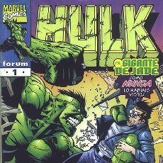 Cómics: HULK VOL. IV COMICS FORUM Nº 1 AL 12 SERIE COMPLETA. MARVEL - JOHN BYRNE - RON GARNEY.. Lote 101705667