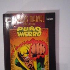 Cómics: CLASICOS MARVEL BLANCO Y NEGRO - PUÑO DE HIERRO - NUEVO - CJ 31 - GORBAUD. Lote 101940167