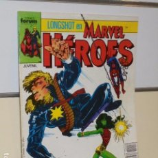 Cómics: MARVEL HEROES Nº 18 - FORUM. Lote 140914042
