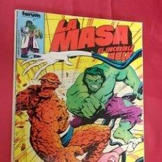 Comics : LA MASA. TOMO RETAPADO. DEL Nº 26 AL Nº 30. FORUM. Lote 102112615