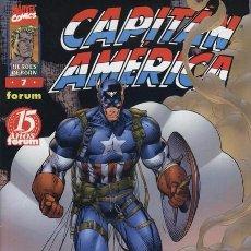 Cómics: HÉROES REBORN: CAPITÁN AMÉRICA VOL.1 Nº 7 - FORUM IMPECABLE . Lote 102112739