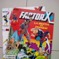 Cómics: LOTE FACTOR X NÚMEROS 4 Y 5. Lote 102425131