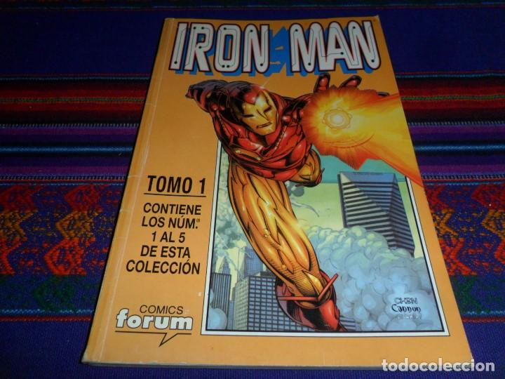 Cómics: RETAPADO FORUM VOL. 4 IRON MAN CON NºS 1 AL 5. 1999. BUEN ESTADO. - Foto 1 - 102583715