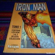 Cómics: RETAPADO FORUM VOL. 4 IRON MAN CON NºS 1 AL 5. 1999. REGALO VOL. 1 NºS 16 AL 20.. Lote 102583715