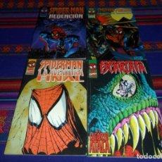 Cómics: SPIDER-MAN REDENCIÓN ARAÑA ESCARLATA SPIDERMAN LA AVENTURA FINAL PUNISHER COMPLOT MORTAL. CON REGALO. Lote 102584571
