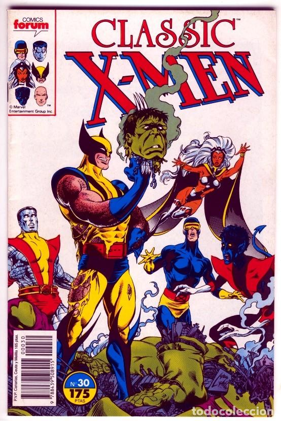 CLASSIC X-MEN 30 VOL1 (Tebeos y Comics - Forum - X-Men)