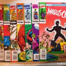Cómics: ANGELES CAIDOS Nº 1,2,3,4,5,6,7,8 - SERIE LIMITADA NUEVOS MUTANTES - COMPLETA. Lote 102841967