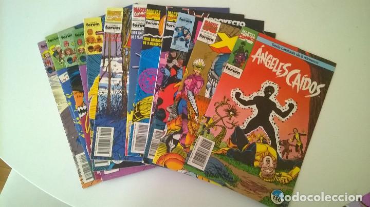 LOTE VARIOS FORUM MUTANTES (Tebeos y Comics - Forum - Otros Forum)