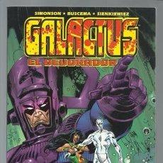 Cómics: GALACTUS: EL DEVORADOR, 2000, FORUM, MUY BUEN ESTADO. Lote 102929723