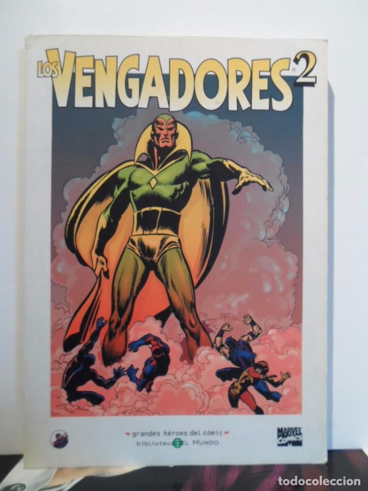 Cómics: +++ LOS VENGADORES - GRANDES HÉROES DEL CÓMIC - TOMOS Nº 1, 2, 3 - EDIT. EL MUNDO - EDICIÓN AÑO 2003 - Foto 2 - 75490851