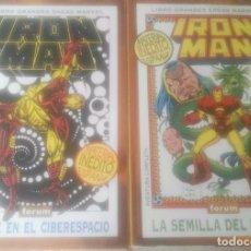 Cómics: IRON MAN MUERTE EN EL ESPACIO Y LA SEMILLA DEL DRAGON. Lote 103150283