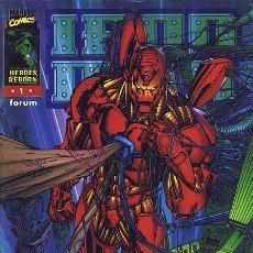 Cómics: IRON MAN HEROES REBORN Nº 1 AL 12 SERIE COMPLETA FORUM - LOEBDELL - JIM LEE - PORTACIO. Lote 103204059