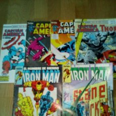 Cómics: LOTE COMICS CAPITAN AMERICA 4NUMEROS Y IRON MAN 2 NUMEROS. Lote 103307666