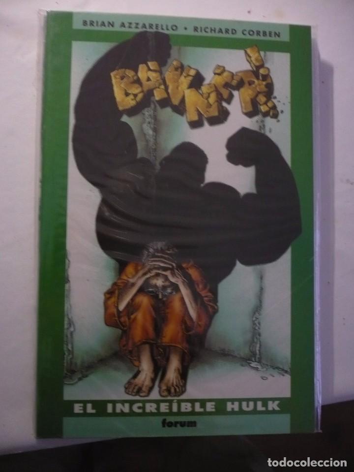 BANNER:EL INCREIBLE HULK - RICHARD CORBEN(FORUM). (Tebeos y Comics - Forum - Hulk)