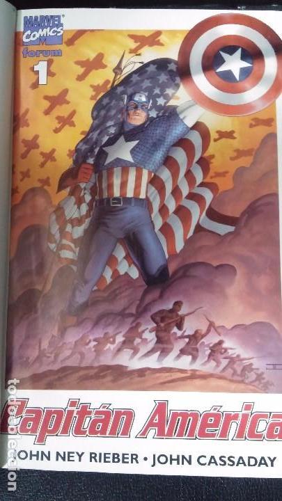 Cómics: CAPITAN AMERICA 2 TOMOS COMPLETA - Foto 2 - 103413035