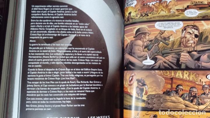 Cómics: CAPITAN AMERICA 2 TOMOS COMPLETA - Foto 5 - 103413035