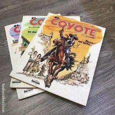 Cómics: LOTE EL COYOTE - FORUM - 1983 (3 CÓMICS). Lote 103427151