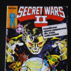 Cómics: SECRET WARS II/2, TOMO RETAPADO CON LOS NºS 21, 22, 23, 24 Y 25. FORUM.. Lote 103443431