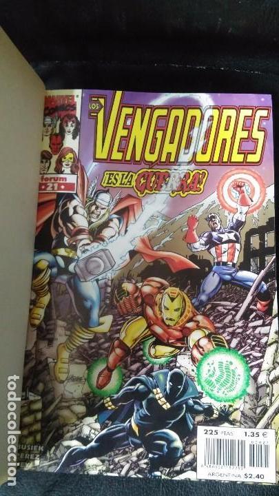 Cómics: LOS VENGADORES ( 5 TOMOS COLECCION COMPLETA ) - Foto 3 - 103483775