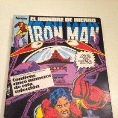 Cómics: IRON MAN RETAPADO VOLUMEN 1 FORUM. NUMEROS 21 A 25. HOMBRE DE HIERRO.. Lote 103519419