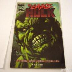 Cómics: THE SAVAGE HULK. Lote 103573875