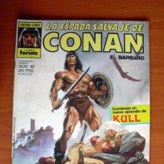 Cómics: LA ESPADA SALVAJE DE CONAN, Nº 92 - EDICIONES FORUM. Lote 103574555