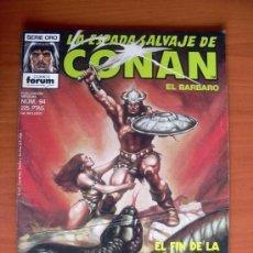 Cómics: LA ESPADA SALVAJE DE CONAN, Nº 94 - EDICIONES FORUM. Lote 103575599