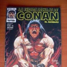 Cómics: LA ESPADA SALVAJE DE CONAN, Nº 95 - EDICIONES FORUM. Lote 103575779