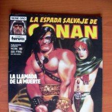 Cómics: LA ESPADA SALVAJE DE CONAN, Nº 86 - EDICIONES FORUM. Lote 103576283