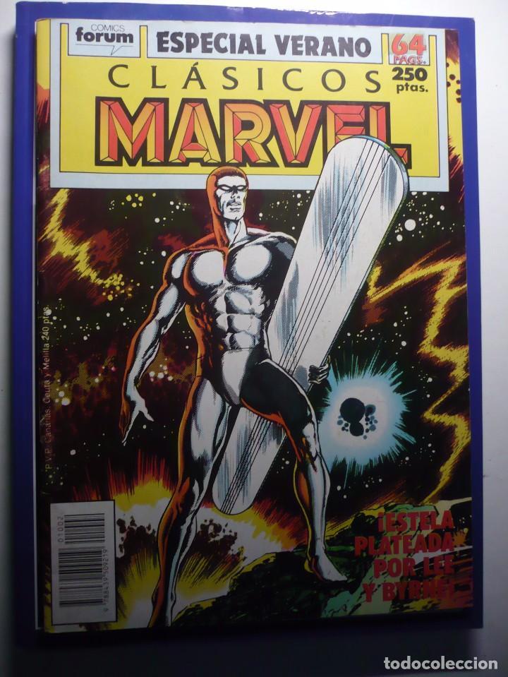 CLASICOS MARVEL : ESPECIAL VERANO - FORUM (1989). (Tebeos y Comics - Forum - Silver Surfer)