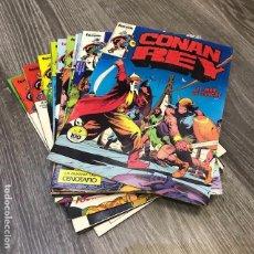 Cómics: LOTE CONAN REY - FORUM - 1984 (13 CÓMICS). Lote 103614943