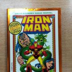 Cómics: IRON MAN LA SEMILLA DEL DRAGON (GRANDES SAGAS MARVEL). Lote 103614975