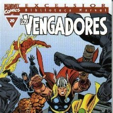 Cómics: BIBLIOTECA MARVEL LOS VENGADORES 20 NUEVO. Lote 103683875