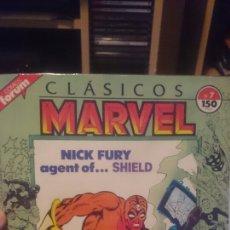 Cómics: COMIC CLASICOS MARVEL N° 7 NICK FURY AGENT OF SHIELD DE FORUM VOL.1. Lote 103729052
