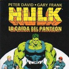 Cómics: HULK: LA CAIDA DEL PANTEÓN. Lote 103778379