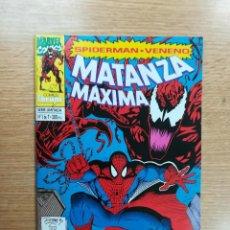 Cómics: SPIDERMAN VENENO MATANZA MAXIMA #1. Lote 103779599