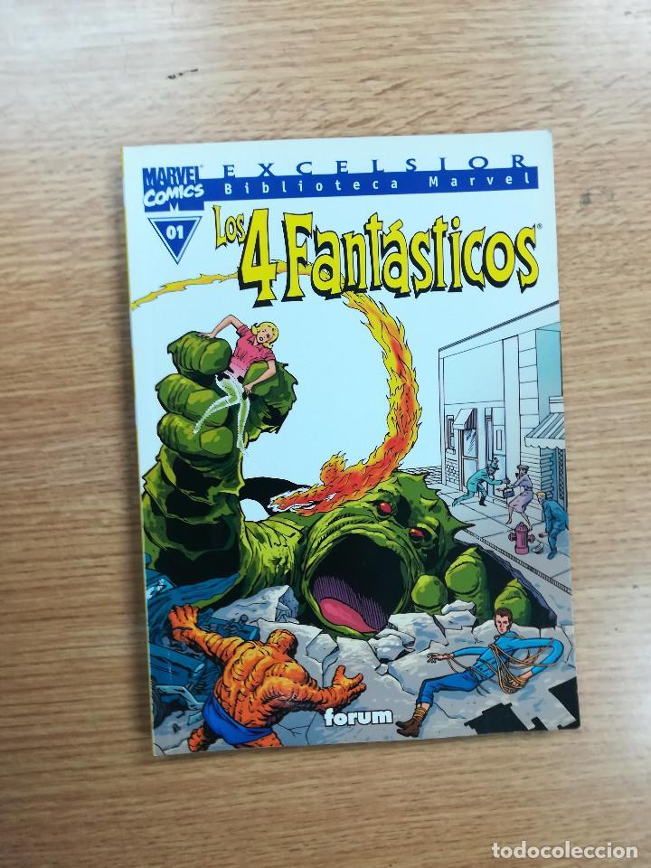BIBLIOTECA MARVEL 4 FANTASTICOS #01 (Tebeos y Comics - Forum - 4 Fantásticos)
